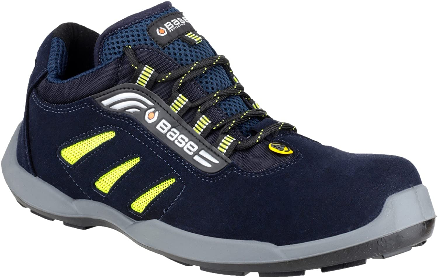 BASE PredECTION BAS-B647-65 Frisbee Safety shoes, bluee, UK 0.5 EU 40