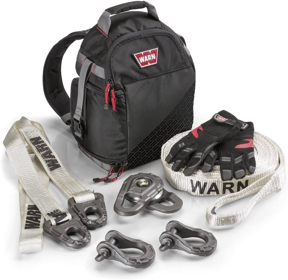 WARN 97570 Heavy-Duty Epic Accessory Recovery Kit Large
