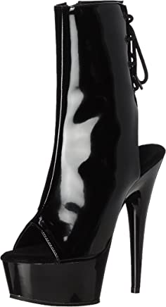 Pleaser Women�s Delight 1018 Ankle Boots : boots