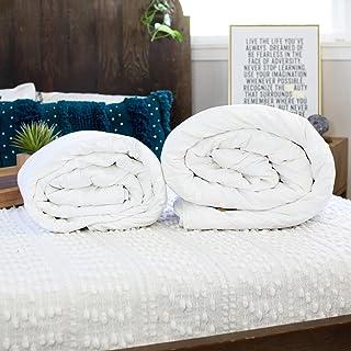 Silk Bedding Direct Deux Couettes en Soie. Finitions Mains. Soie de Mûrier Longues Fibres. ÉTÉ ET Printemps/Automne. Conti...