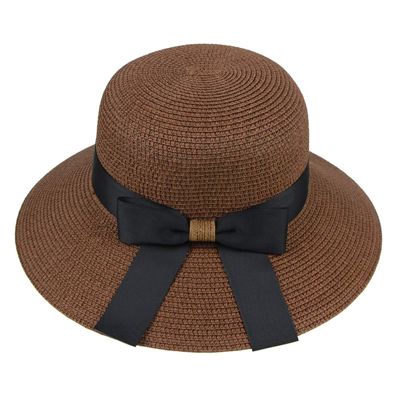 男らしいなに離れた漁師帽 帽子 レディース UVカット 帽子 夏季 海 旅行 UV帽子 日焼け防止 つば広 取り外すあご紐 おしゃれ 可愛い ワイルド カジュアル スタイル ファッション シンプル 夏 ビーチ 必須 小顔効果 ROSE ROMAN