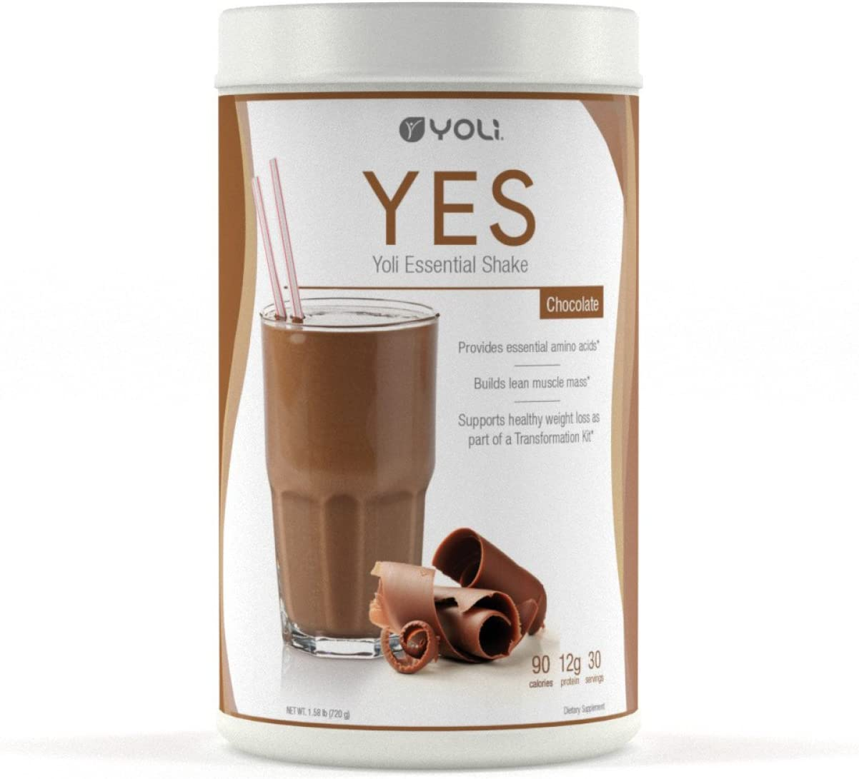 Award Yoli Tulsa Mall YES Protein Shake LLC by Chocolate Canister