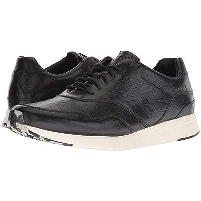 Cole Haan Grandpro Running Sneaker (Black/Black Camo Embossed) Men