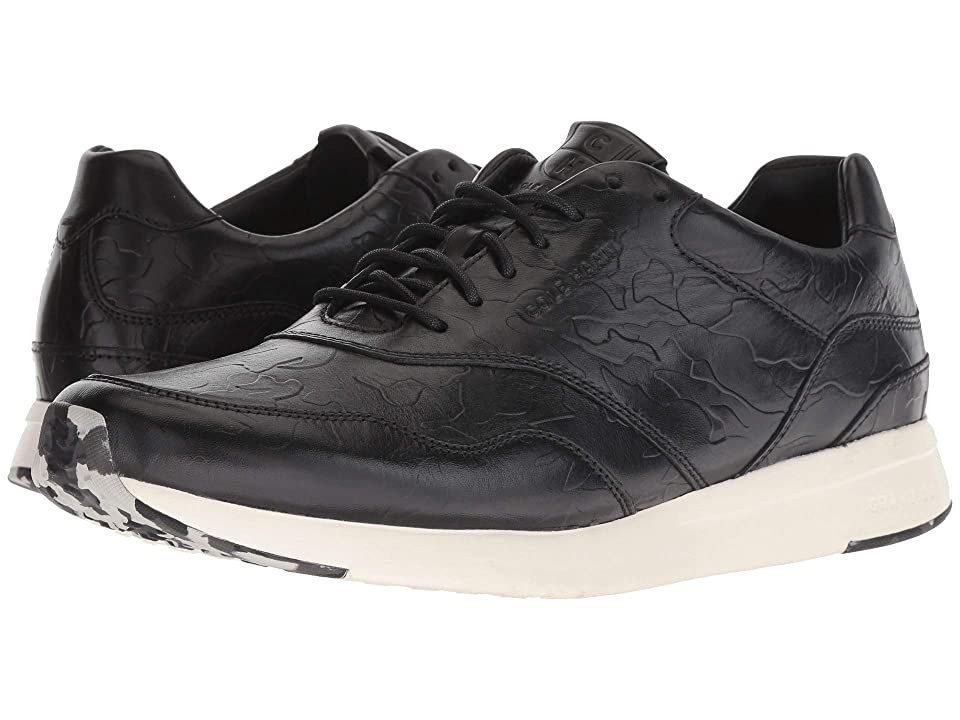 Cole Haan Grandpro Running Sneaker (Black/Black Camo Embossed) Men