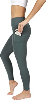 90 Degree By Reflex High Waist Interlink Yoga Pants - Sage - Small