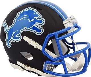 detroit lions black helmet