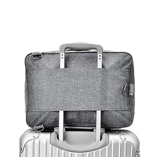685a15bc15 Cuuker Travel Duffel Bag Backpack Lightweight Waterproof Large Capacity  Portable Luggage Bag (Black)