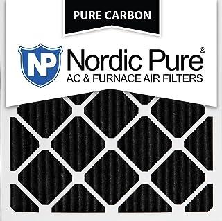 Nordic Pure 14x28x1 Exact MERV 13 Tru Mini Pleat AC Furnace Air Filters 4 Pack