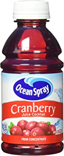 Ocean Spray Cranberry Juice Cocktail, 10 Ounce Bottle (Pack of 6)