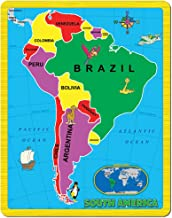 Continent Puzzle - South America (15 Piece)
