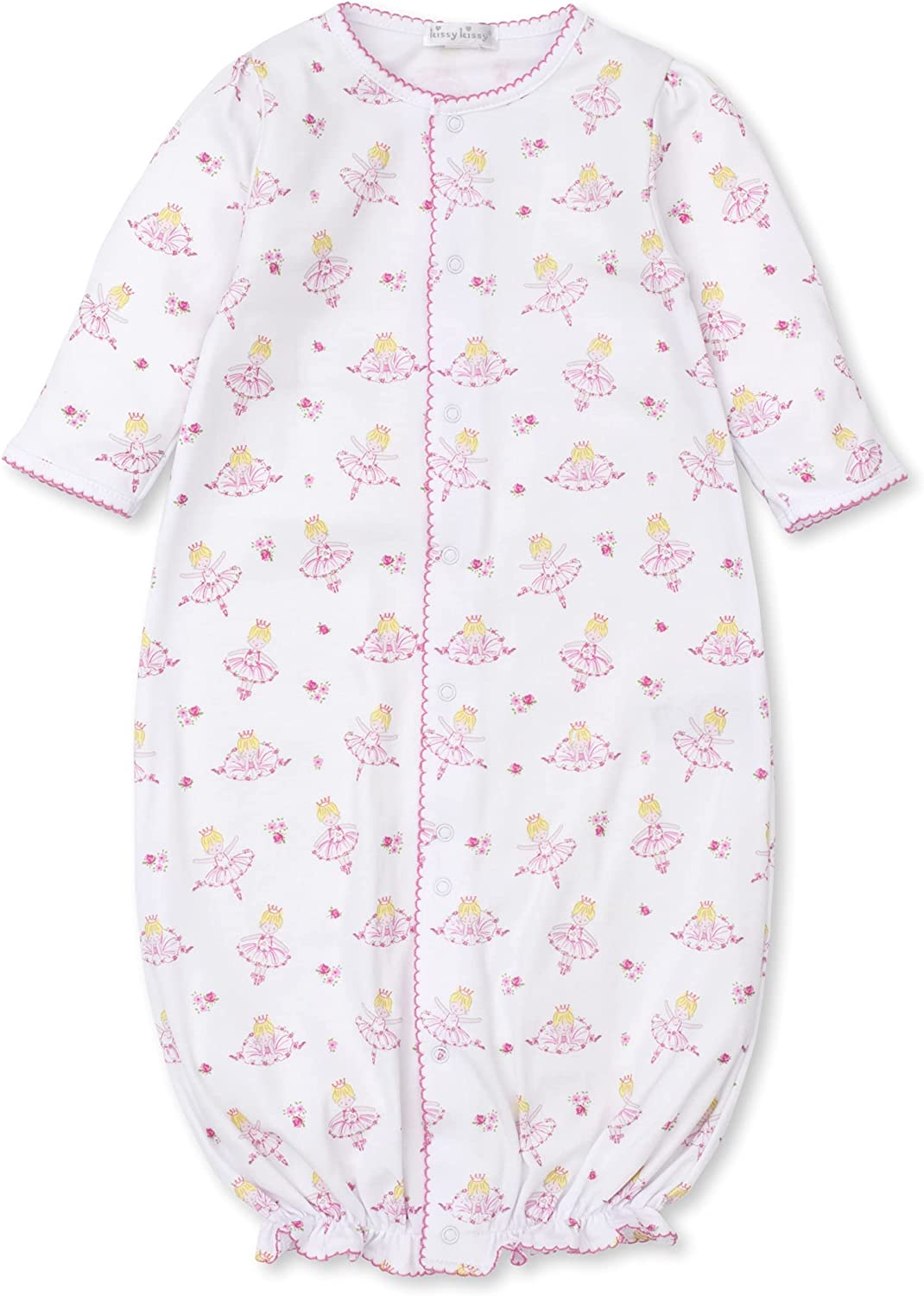 Kissy Kissy Baby-Girls Infant Darling Dancers Print Convertible Gown