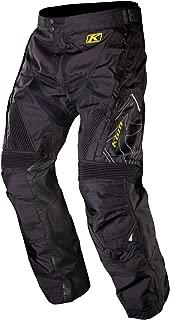 Klim Dakar Men's Motocross Motorcycle Pants - Black/Size 28