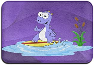 Dragon Surffing Funny Outdoor Mats Welcome Mat