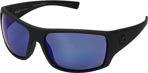 Black Satin/Wild Blue Flash Polar Plus