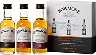Bowmore Distillers Miniature Collection 3x0.05 Liter
