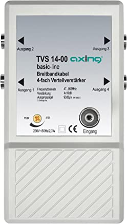 Axing TVS 14-00 4x Distributor Amplifier for Small BK and Terrestrial Networks