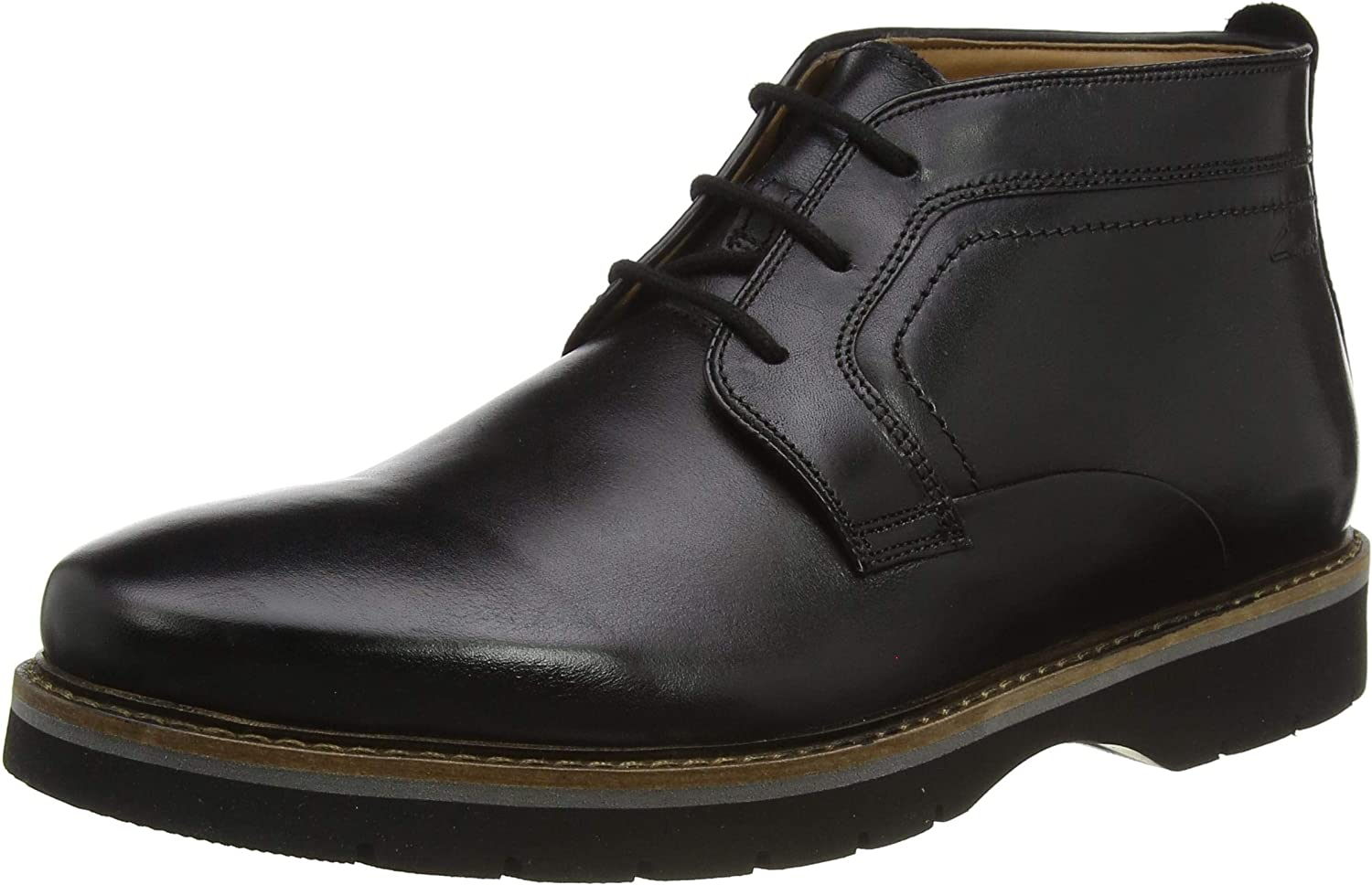 Clarks Bayhill New product Mid Fresno Mall Ankle Black Men Boots
