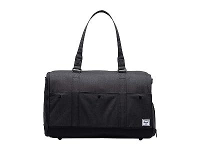Herschel Supply Co. Bennett (Black Crosshatch) Duffel Bags