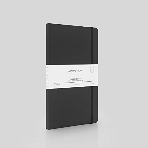 myPAPERCLIP Executive Series Ruled Black Planner/Organizer(_8904228301470_Black_B6_)