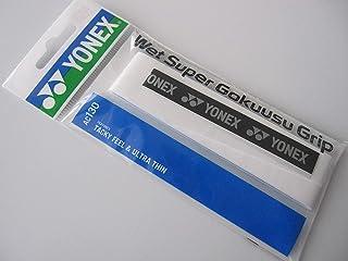 YONEX 0.4mm Wet Super Ultra-Thin Grip Ac130 White (yac130w011f) Badminton Tennis Squash