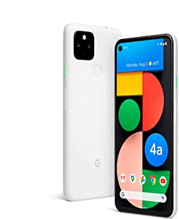 Google Pixel 4a - 128GB, 6GB RAM, 5G, Clearly White