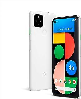 هاتف جوجل بكسل 4 ايه بذاكرة داخلية 128 جيجا وذاكرة رام 6 جيجا ويدعم الجيل الخامس بلون ابيض ناصع
