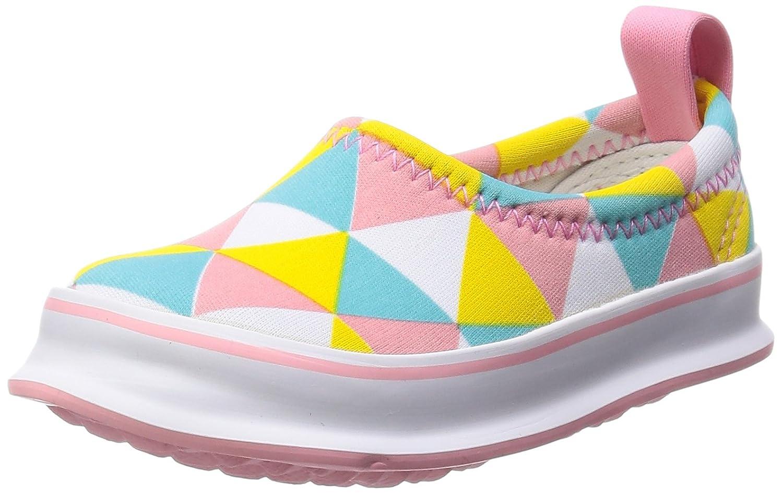 [スキッポン] 子ども 靴 トライアングル(パステル) SKP-0034-13 (ソール 白) 13cm