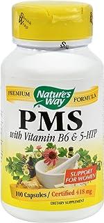 Nature's Way Pms W B6 And Other B Vitamins, 100 Vegetarian Capsules