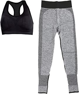 Baosity 2 Pieces Profession Sweat-Absorbent Sport Yoga Wear Set, Various Choices