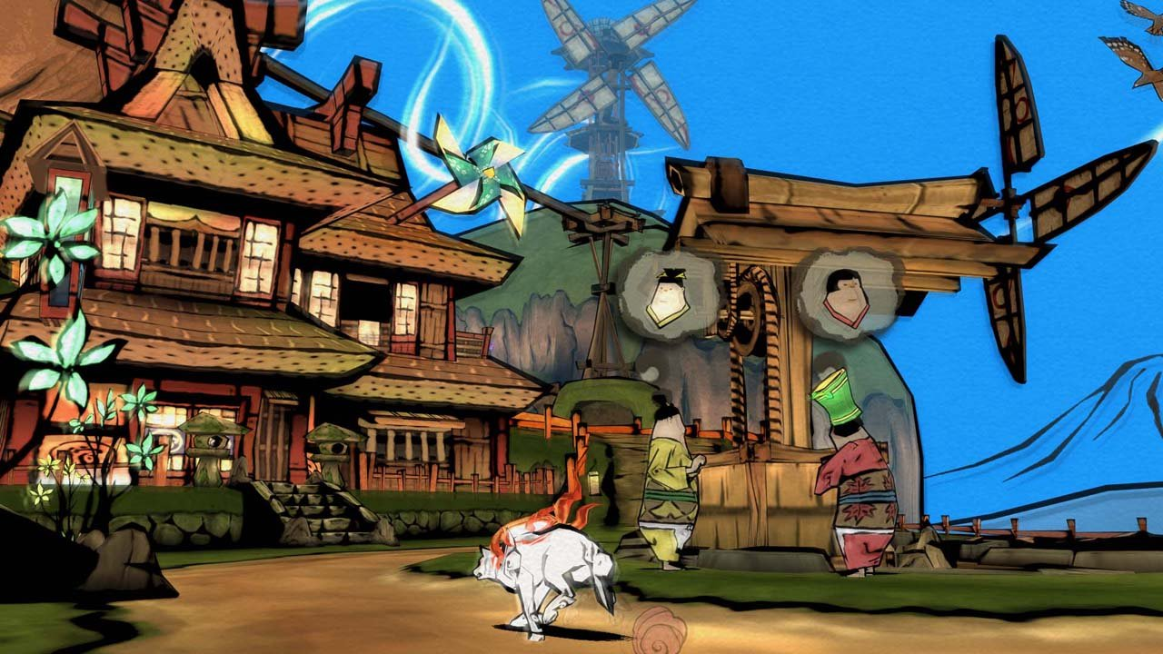 Amazon.com: OKAMI HD - Nintendo Switch [Digital Code] : Video Games