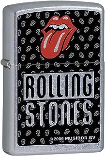 Zippo Rolling Stones Street Chrome Pocket Lighter