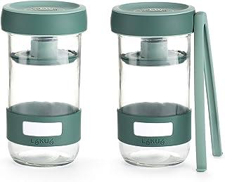 LEKUE 3000100SURM017 Boîtes de conservation verre, 700 milliliters