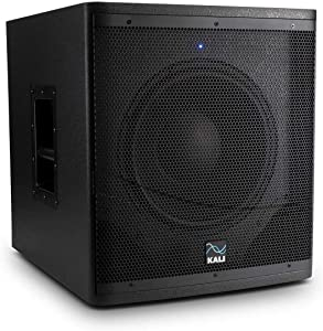 """Kali Audio WS-12 1000W Powered Subwoofer – for Studio and Stage, 12"""" Driver, Max SPL: 123dB"""