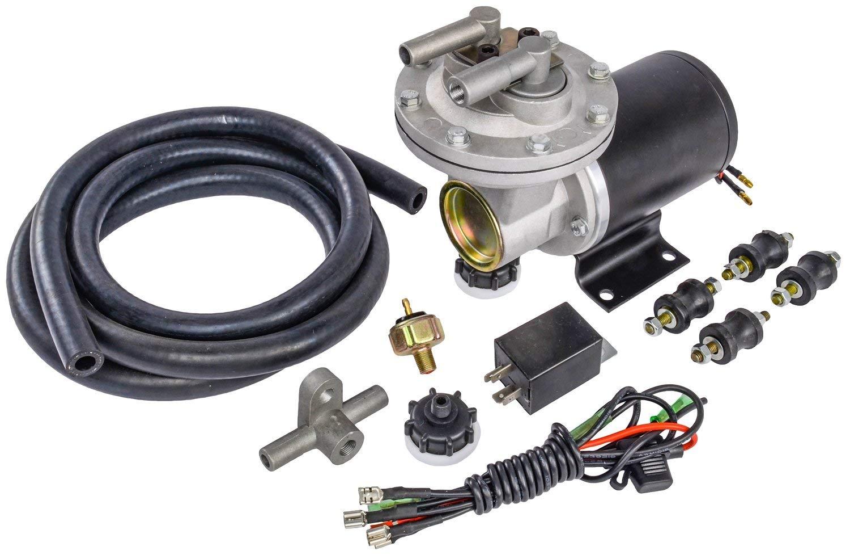 "JEGS Electric Vacuum Pump Kit | Provides Between 18"" - 22"" Hg of Vacuum"
