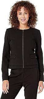 Calvin Klein Women's Lux Zip Front Jacket