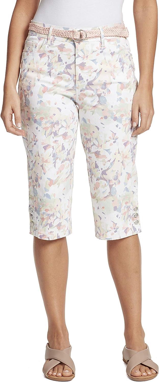 Gloria Vanderbilt Women's Popular brand in the world Mila Skimmer Short Belted Fees free