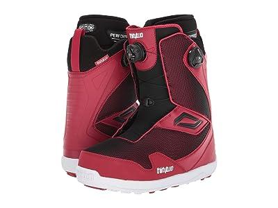 thirtytwo TM-2 Double BOA Snowboard Boot (Red/Black) Men