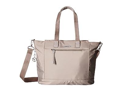 Hedgren Glaze RFID Large Tote (Zinc) Tote Handbags