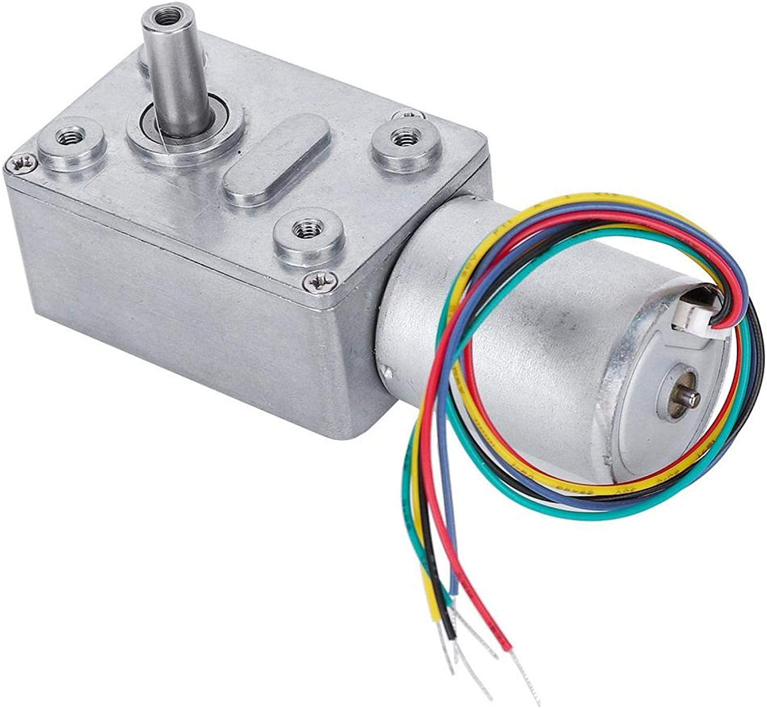 Motor Austin Mall Reversible Easy Be super welcome To Use Electri DC Self-Locking for