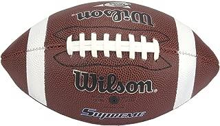 Wilson NCAA Supreme Junior Sewn Rubber Football