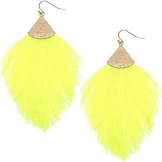 Fringe Tassel Silky Thread Dangle Drop Metal Hook Earrings-Drop Dangle Statement Earrings
