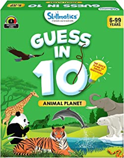 MDR Skillmatics Educational Game: Animal Planet, Skillmatics Educational Game for Children, Adults & Families, Card Game o...