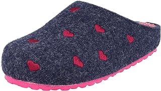 Supersoft 542-271 - Zapatillas de estar por casa con corazones en 2 colores