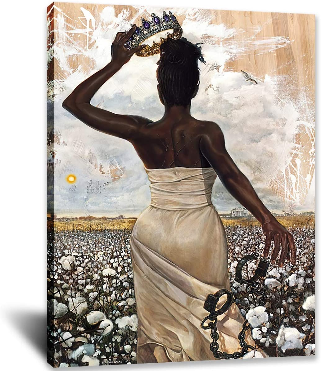 IXMAH the Queen latest Was Free African Black Gir Poster American Woman Max 83% OFF