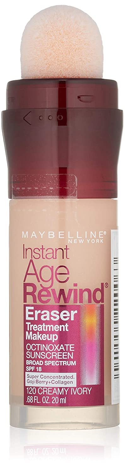 生き物宇宙飛行士ラベンダーMAYBELLINE Instant Age Rewind Eraser Treatment Makeup Creamy Ivory (並行輸入品)