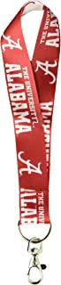 WinCraft NCAA University of Alabama 54756011 Lanyard Key Strap, 1