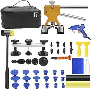 estrattore Dent Paintless Removal utensile per la rimozione dellaria Kit di riparazione di ammaccature attrezzi per auto Dent Puller carrozzeria Dent Removal Tool Kit martello pneumatico