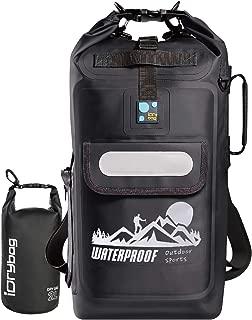 Waterproof Backpack Floating Dry Bag, Dry Bag Backpack Waterproof 20L, Roll Top Keeps Gear Dry for Kayaking, Boating, Rafting, Fishing, Swimming, Hiking, Camping, Travel, Beach