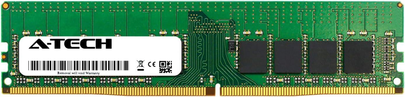 AT350930SRV-X1U1 A-Tech 16GB Module for Lenovo ThinkStation P310 Tower DDR4 PC4-21300 2666Mhz ECC Unbuffered UDIMM 2Rx8 Server Specific Memory Ram