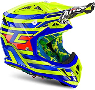 M , Bleu Casque Motocross Airoh Tony Cairoli Aviator 2.2 Ottobiano Bleu